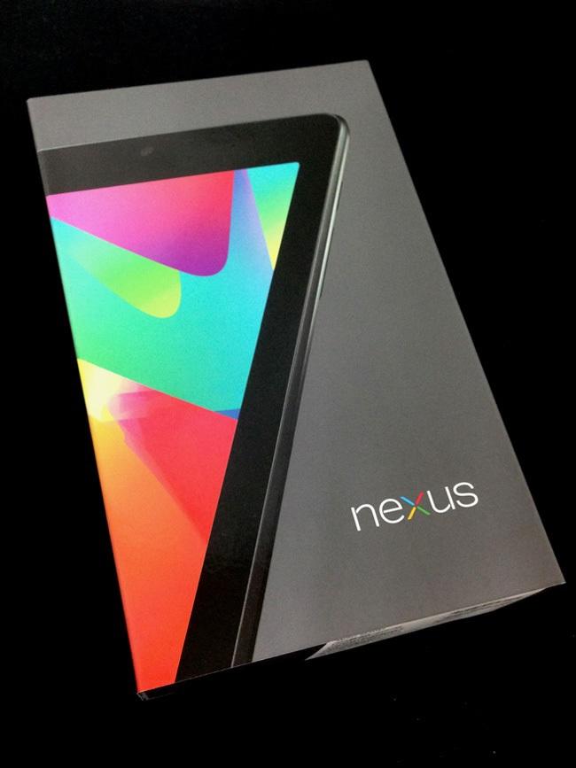 Nexus7(2012)をセットアップする