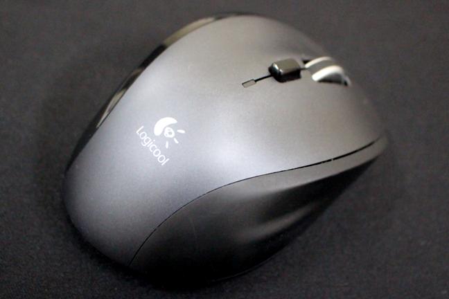 「ロジクール マラソン マウス M705」の電池残量チェック